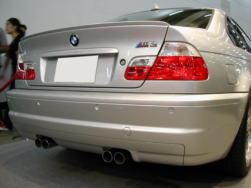 usa painted trunk lip spoiler 99 05 bmw e46 3 series 4d. Black Bedroom Furniture Sets. Home Design Ideas