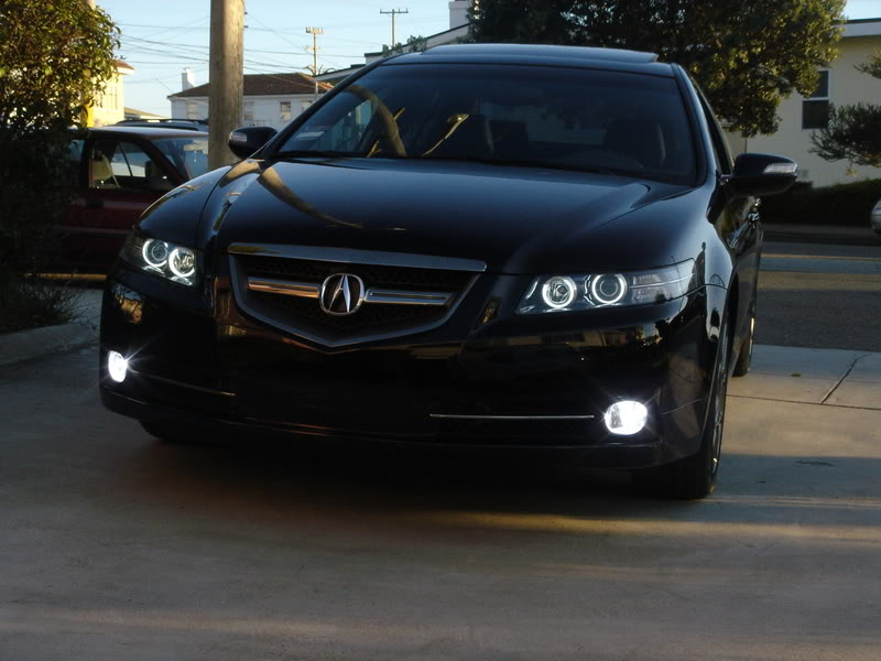 Acura TL Custom Head Lights submited images.