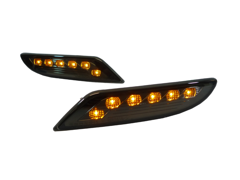 Depo 2010 Look Mercedes W221 S Class Smoke Led Tail Amber