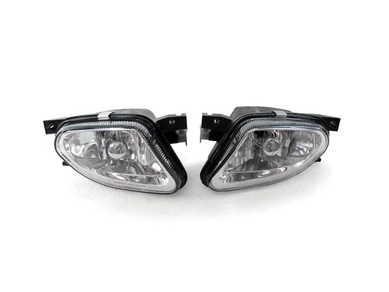 Depo 2003 2006 mercedes benz w211 e class glass fog light for Mercedes benz light bulb replacement