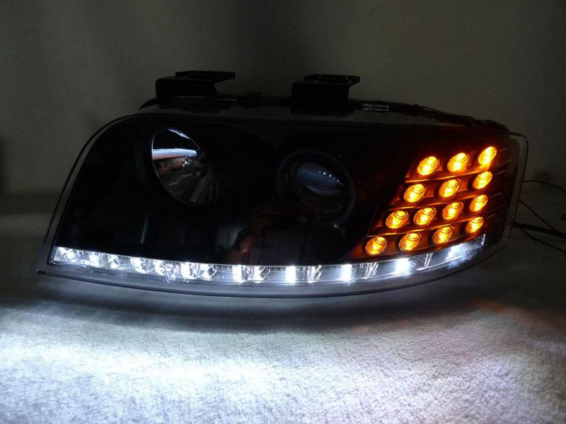 Audi a6 c5 фары светодиодные своими руками 11