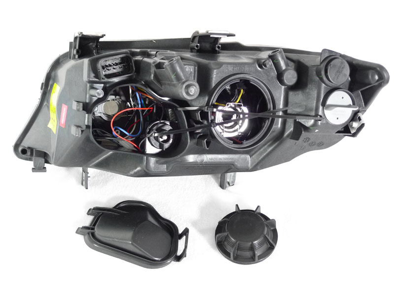 Depo 06 08 Bmw E90 Uhp Led Angel Clear Xenon Headlights Ebay