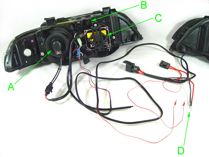 bmw e60 headlight wiring harness   32 wiring diagram