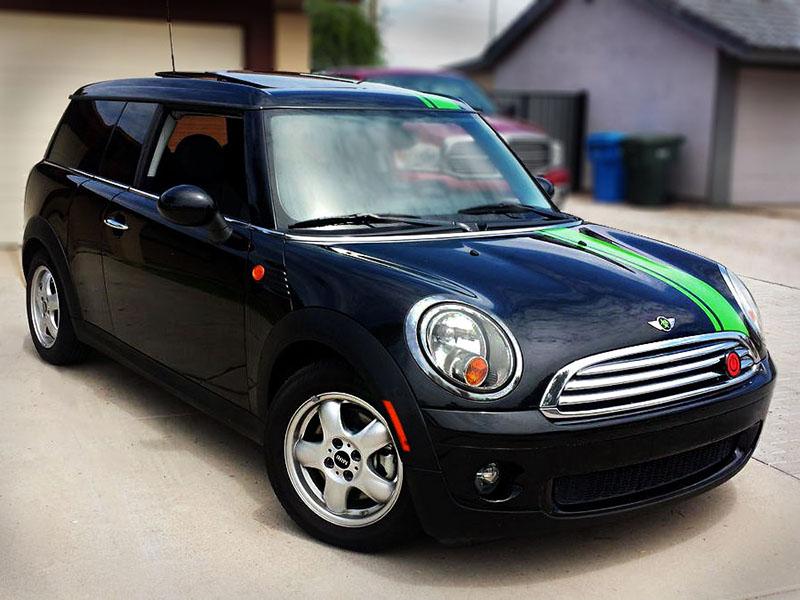 Depo 07-13 Mini Cooper R56 R57 R55 Euro JCW Black