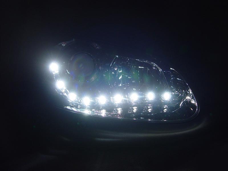 06 09 Volkswagen Golf Gti Jetta Mkv Bi Xenon Led R8