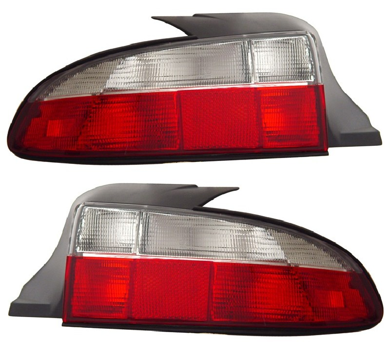 Bmw Z3 Tail Lights: 1996-2000 BMW Z3 ROADSTER EURO STYLE RED / CLEAR REAR TAIL