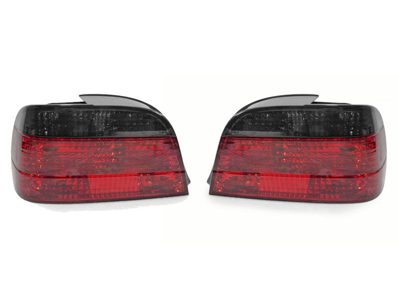 Usa 95 01 Bmw E38 7 Series 740 750 Euro Red Smoke Rear