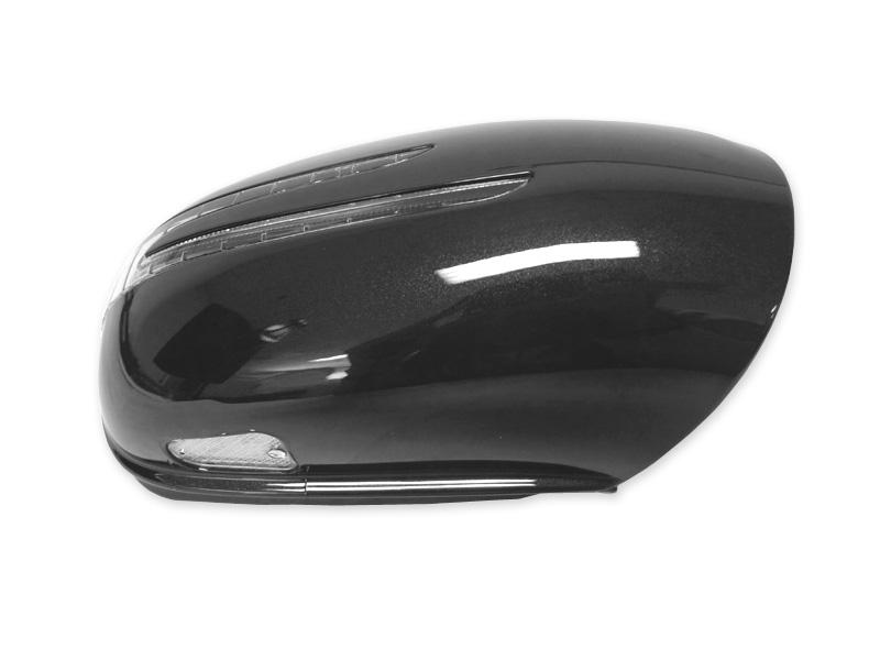 Usa 06 08 W164 M Ml Arrow Led Side Painted Black Mirror