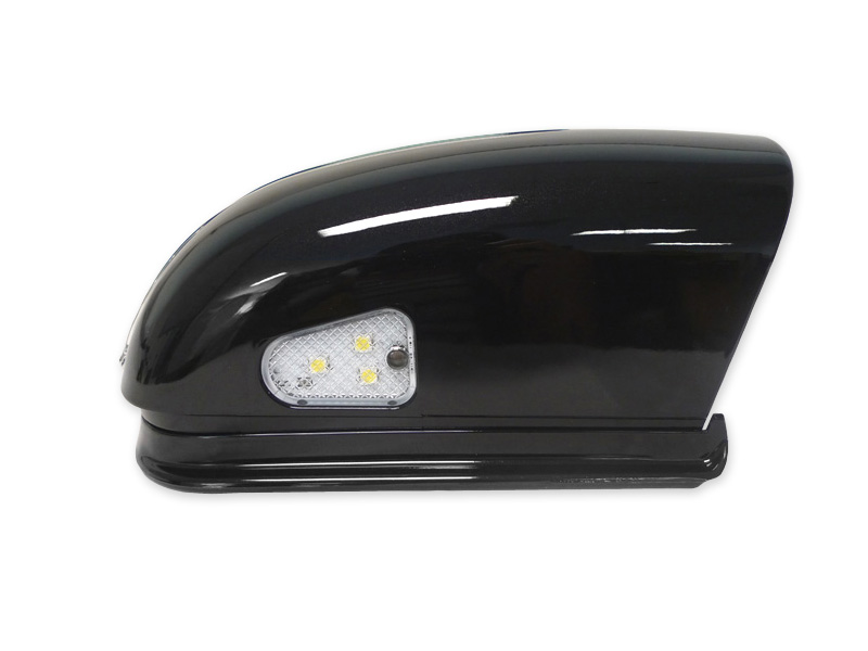 Usa 01 07 W203 C Class Arrow Led Side Painted Black Mirror Cover Led Step Light
