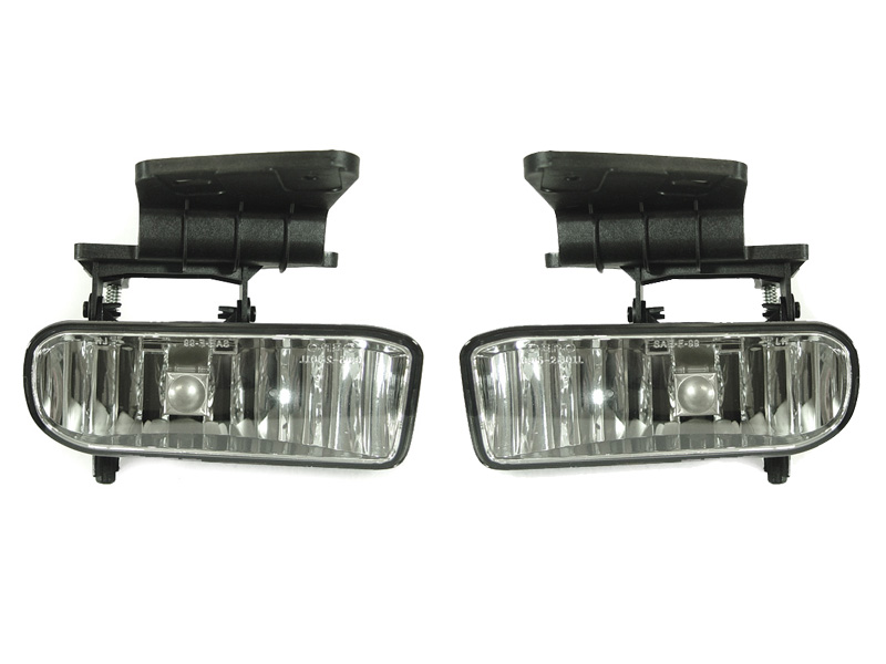 2000 06 chevy tahoe suburban replacement fog lamp set. Black Bedroom Furniture Sets. Home Design Ideas