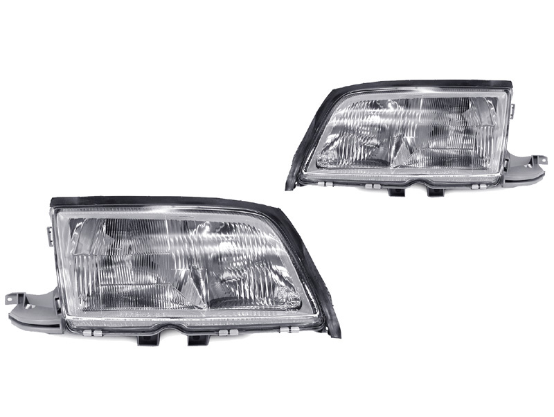 Find usa depo 94 00 mercedes benz w202 c class euro glass for Mercedes benz headlight problems