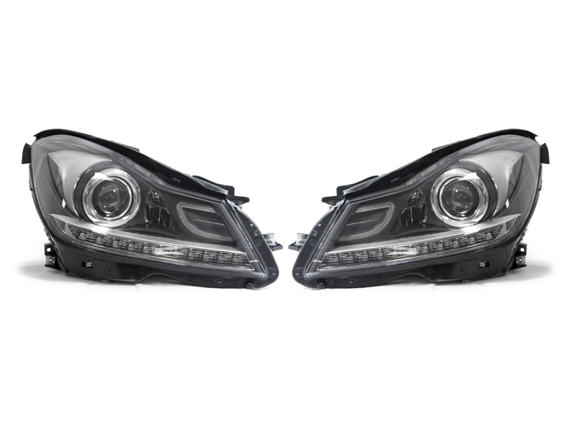 W204 2011 projector headlights mbclub uk bringing for Mercedes benz headlight problems