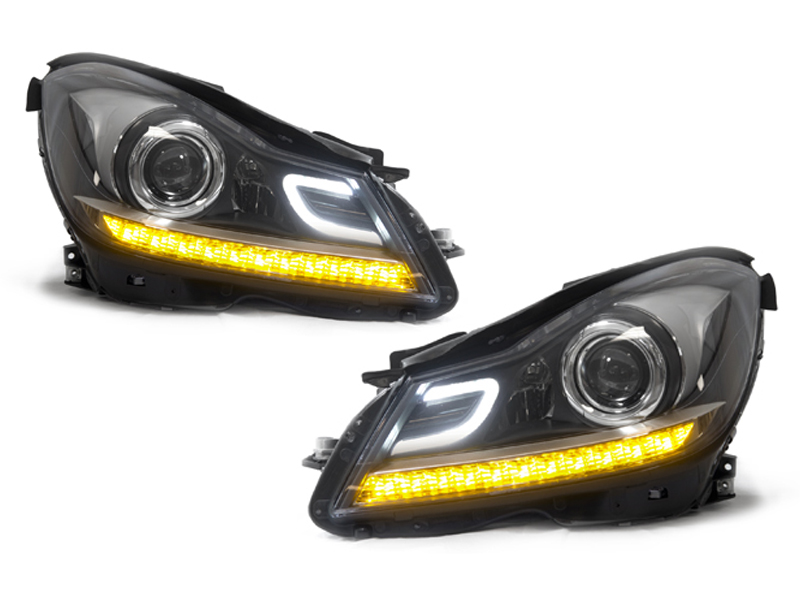DEPO 12 14 Mercedes Benz W204 C Class C63 AMG Style LED