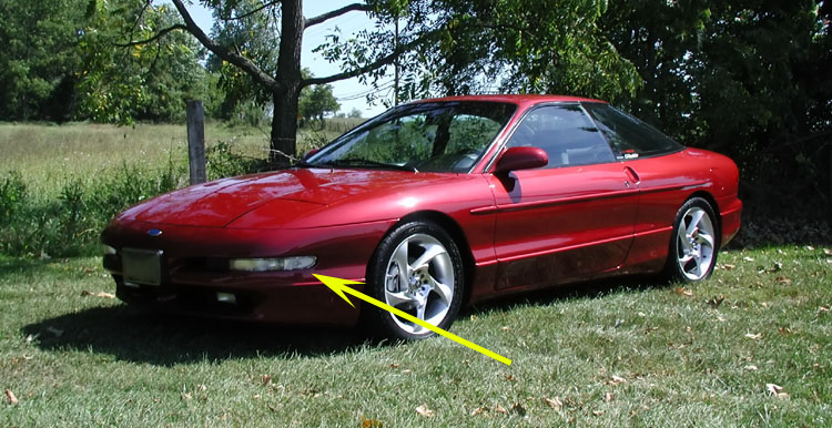 Usa Depo 93 94 95 96 97 Ford Probe Gt  Se Clear Front
