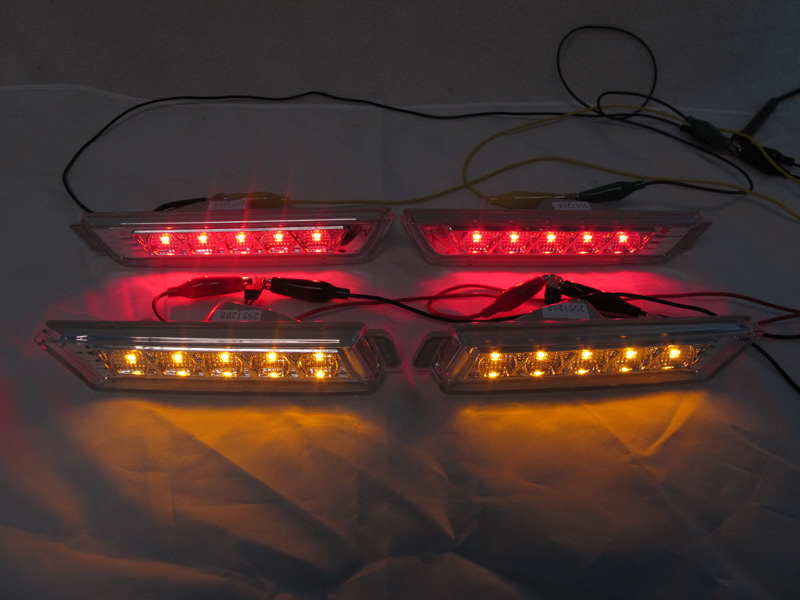 2010 2015 Chevy Camaro Front Amber Rear Red Led Clear
