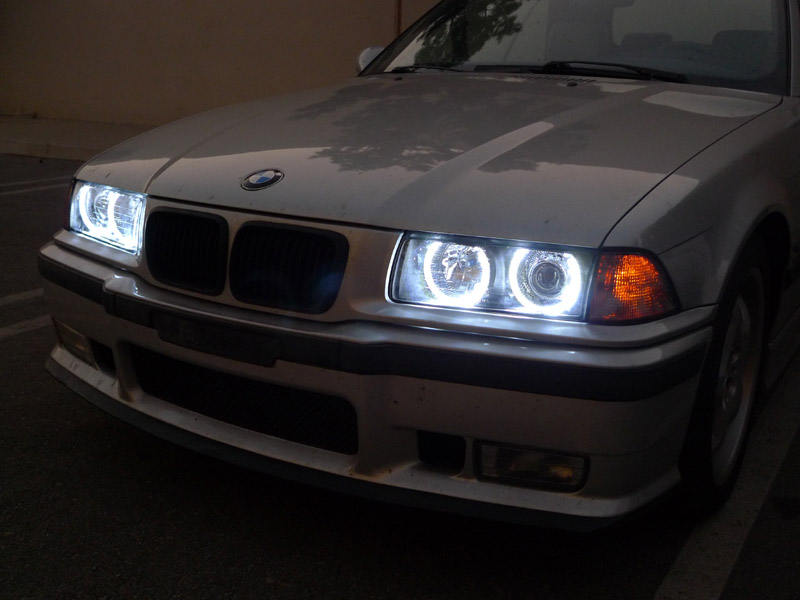 Bmw E36 Depo Headlights Install