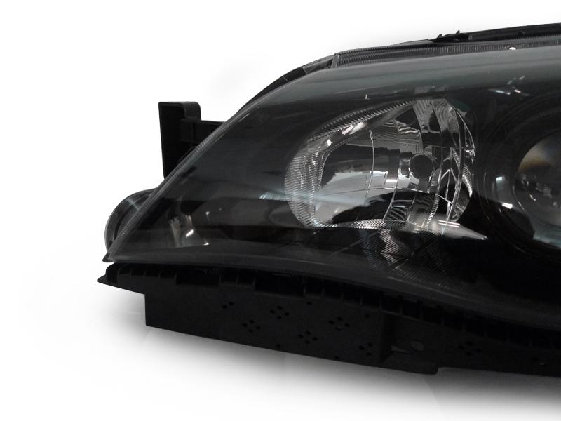 Depo 08 11 Subaru Impreza Sti Black Clear Corner Projector Headlight Wrx Outback Ebay