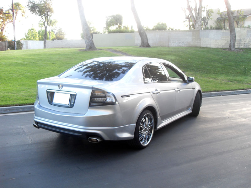 usa fast ship 2004 2005 2006 2007 2008 acura tl type s black clear tail lights ebay. Black Bedroom Furniture Sets. Home Design Ideas