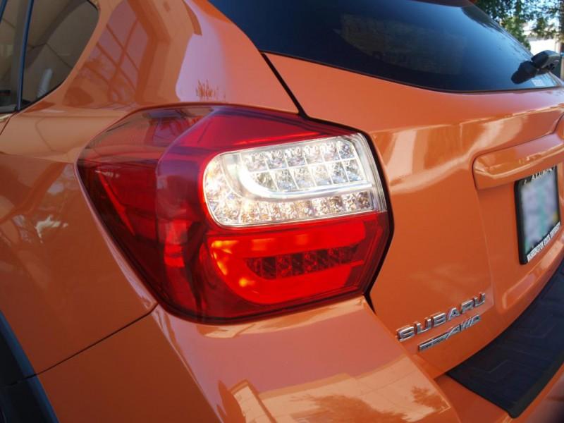 Depo 2012 2016 Subaru Xv Crosstrek Full Led Light Bar Red