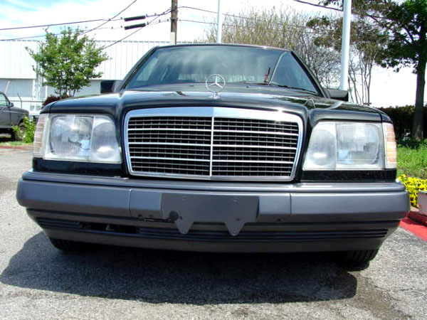 86 93 mercedes benz w124 e class s600 black front grille for Mercedes benz custom grills