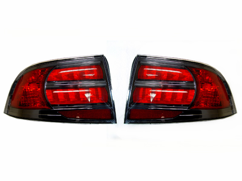 2004 2008 Acura Tl Depo Type S Style Rear Tail Light Cover Set