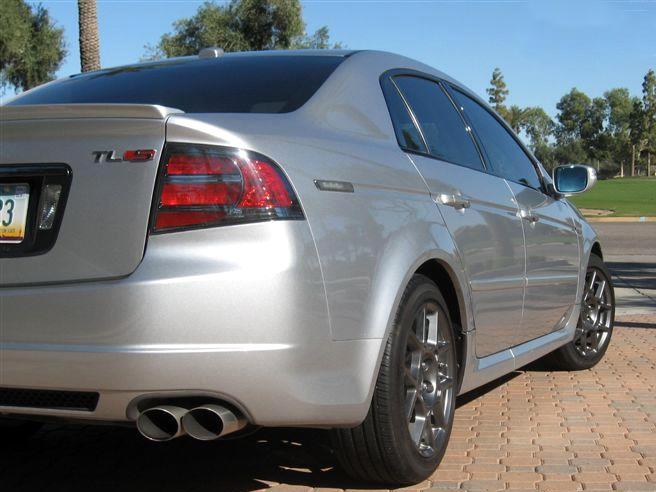 Acura Tl Type S Automobil Bildidee - 2005 acura tl tail lights