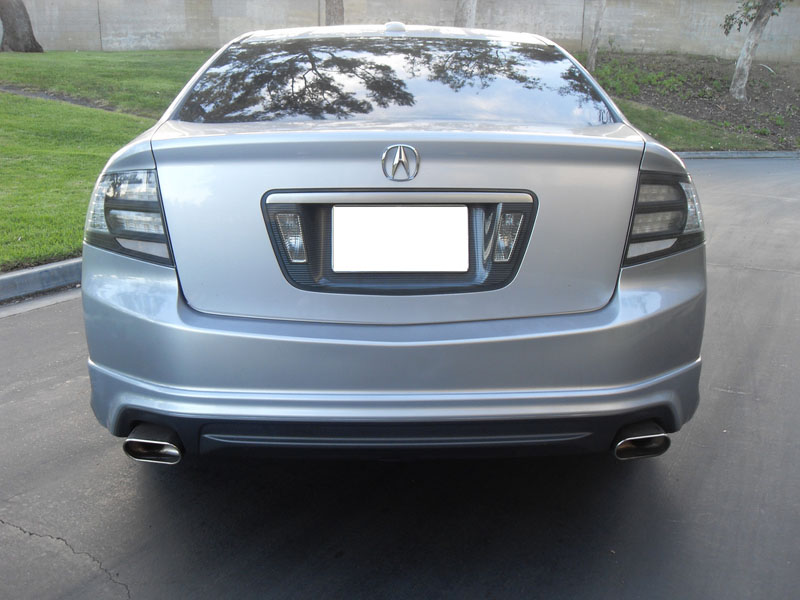2004 2008 Acura Tl Depo Black Trim Clear Or Smoke Rear
